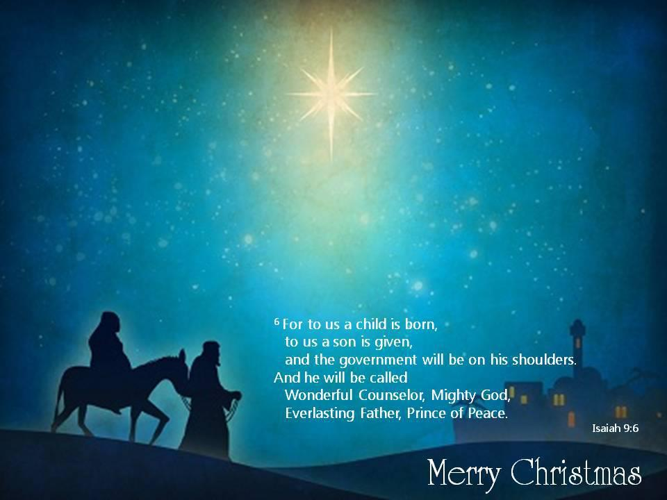 may you have a blessed christmas